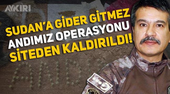 """Metin Alper'in """"Andımız operasyonu"""" siteden kaldırıldı"""