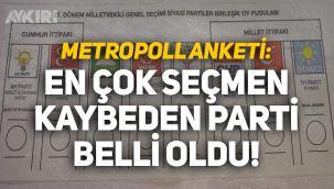 Metropoll son anketini açıkladı: En çok seçmen kaybeden parti belli oldu!