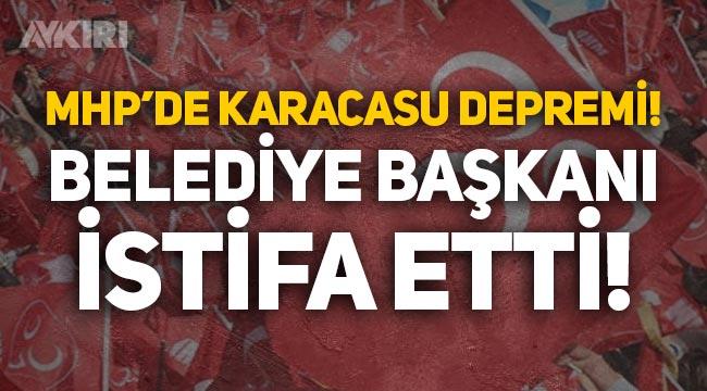 MHP'de deprem: Karacasu Belediye Başkanı Zeki İnal istifa etti!