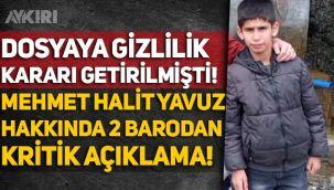 Muş'ta bir camide ölü bulunan Mehmet Halit Yavuz hakkında 2 barodan kritik açıklama!