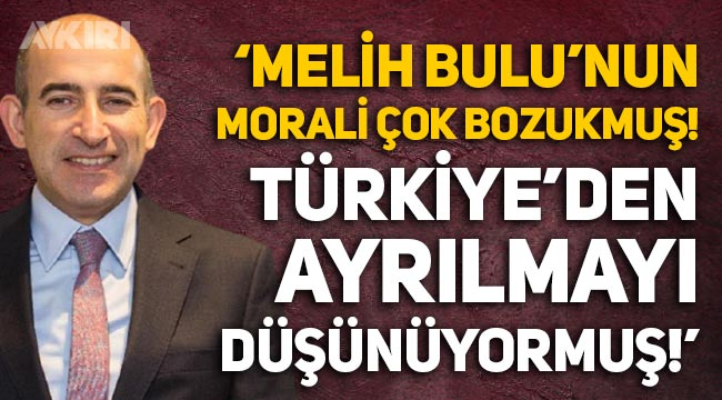 """Nagehan Alçı: """"Melih Bulu'nun morali çok bozukmuş, Türkiye'den ayrılmayı düşünüyormuş"""""""