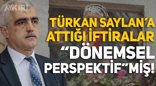 """Ömer Faruk Gergerlioğlu'nun Türkan Saylan'a attığı iftiralar """"dönemsel perspektif""""miş!"""