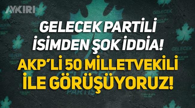Selçuk Özdağ'dan çarpıcı açıklama: Gelecek Partisi, AKP'den 50 milletvekiliyle görüşüyor!