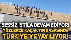 Sessiz istila devam ediyor: Türkiye'ye giren kaçaklar tır kasasında Niğde'ye geldi!