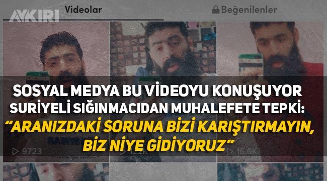 """Sığınmacı """"Suriyeliler gitsin"""" diyenlere çektiği Tiktok videosu ile tepki gösterdi"""