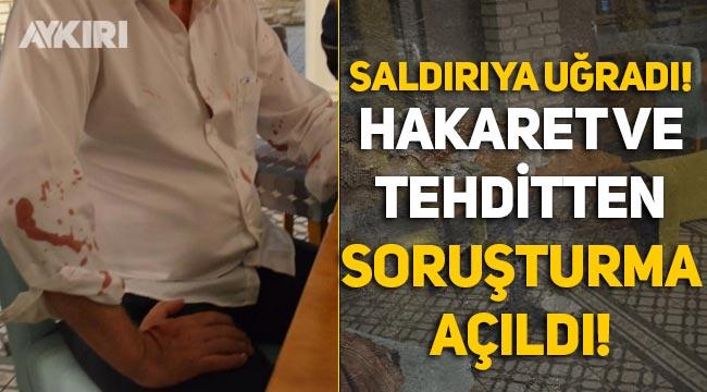 Sopalı saldırıya uğrayan Belediye başkanına hakaret ve tehdit gerekçesiyle soruşturma açıldı!