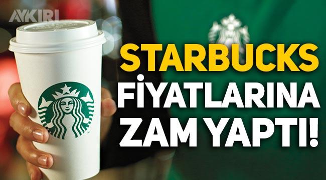Starbucks, kahve fiyatlarına zam yaptı! 8 Temmuz Starbucks zamları...