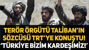 Taliban'ın sözcüsü TRT'ye konuşturuldu: