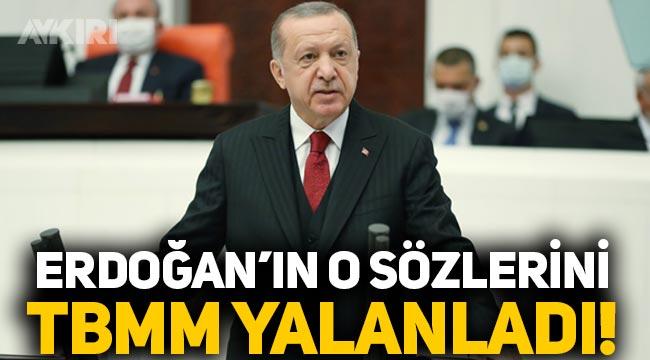 TBMM, Erdoğan'ın İsmet İnönü hakkındaki sözlerini yalanladı!