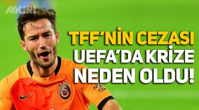TFF'nin cezası Galatasaray'da krize neden oldu! Oğulcan Çağlayan UEFA listesine yazılamadı!