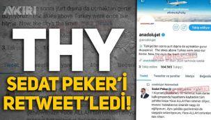 THY, Sedat Peker'i paylaştı, panikle 15 Temmuz gönderisini sildi!