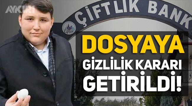 Tosuncuk Mehmet Aydın'ın dosyasına gizlilik kararı!