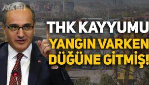 Türk Hava Kurumu kayyumu yangınlar devam ederken düğüne gittiğini açıkladı!