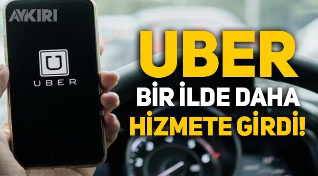 Uber, Ankara ve İstanbul'dan sonra İzmir'de hizmete başladı