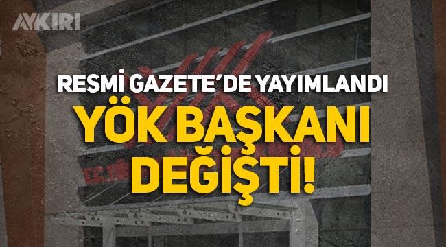 YÖK Başkanı değişti: Marmara Üniversitesi Rektörü Erol Özvar getirildi! Erol Özvar kimdir?