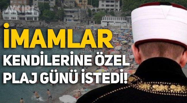 Zonguldak'ta imamlar, kendilerine özel plaj günü istedi!