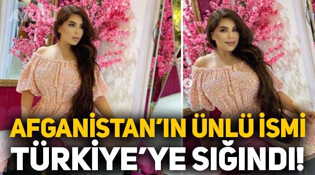Afganistan'ın popüler ismi Aryana Sayeed Türkiye'ye sığındı!