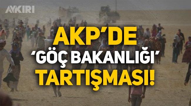 AKP'den 'topluma entegrasyon' için Göç Bakanlığı hamlesi!