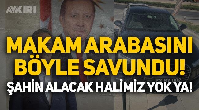 """AKP'li Belediye Başkanından makam arabası savunması: """"Gidip Şahin alacak halimiz yok ya… """""""