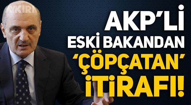 AKP'li eski bakan Erdoğan Bayraktar'dan 'çöpçatan' itirafı!