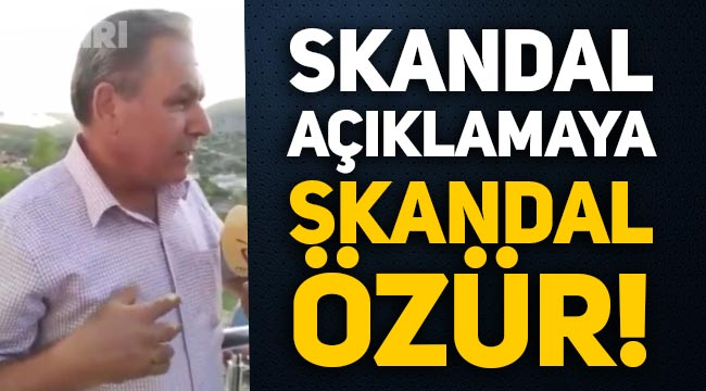 AKP'li Gündoğmuş Belediye Başkanı Mehmet Özeren'den skandal açıklamaya skandal özür!