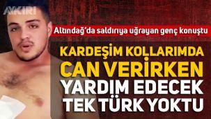 Altındağ'da Suriyelilerin bıçakladığı Ali Yasin Güler:
