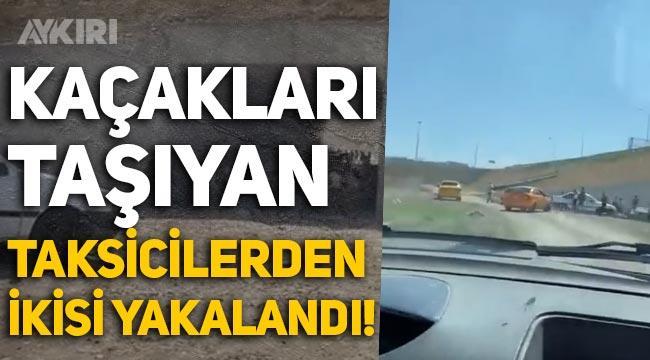 Ankara'da kaçakları taşıyan taksicilerden ikisi yakalandı!