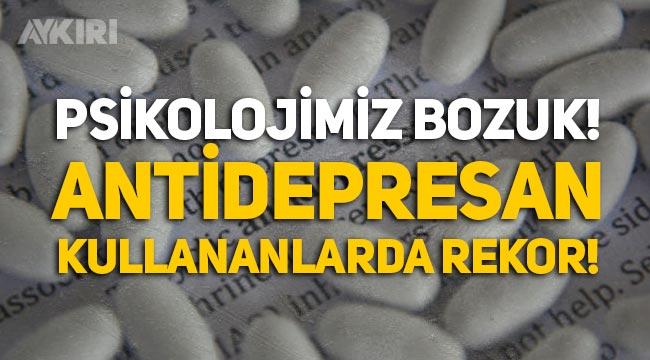 Bakanlık açıkladı: Sinir sistemi ilacı ve antidepresan kullanımında rekor!