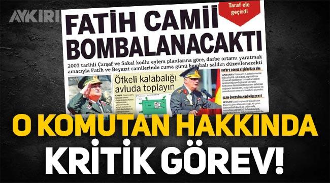 Balyoz Kumpası mağduru Tuğgeneral Nail İlbey, terörle mücadelenin başına getirildi
