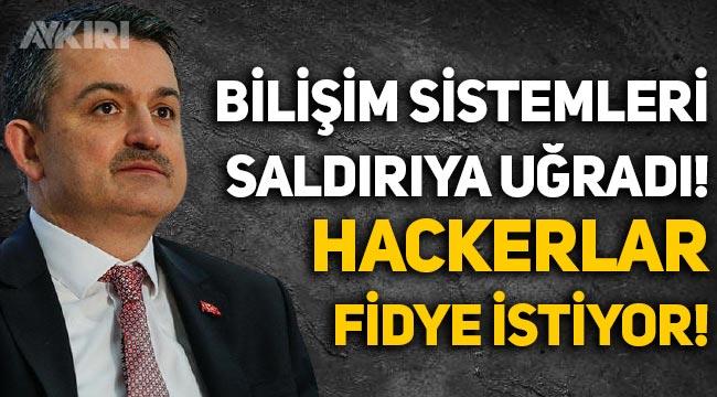"""Barış Pehlivan: """"Tarım ve Orman Bakanlığı siber saldırıya uğradı, Hackerlar fidye istiyor!"""""""