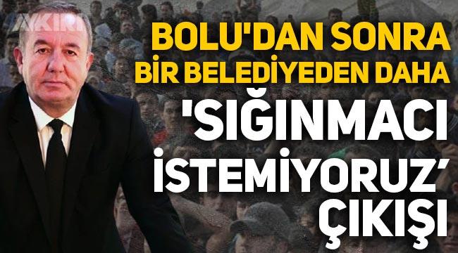"""Bolu'dan sonra Sungurlu Belediyesinden de """"Sığınmacı istemiyoruz"""" çıkışı!"""