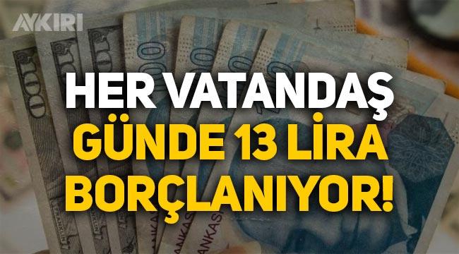 CHP Milletvekili Ömer Fethi Gürer: Vatandaş her gün 13 lira borçlanıyor!