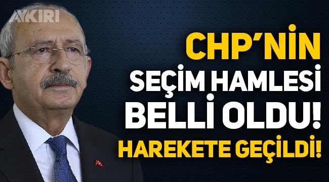CHP'nin seçim hamlesi belli oldu, kararsız seçmen için harekete geçildi!