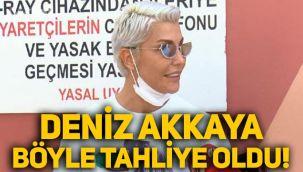 Deniz Akkaya tahliye oldu: Selin Ciğerci'ye artık Okan diyeceğim!