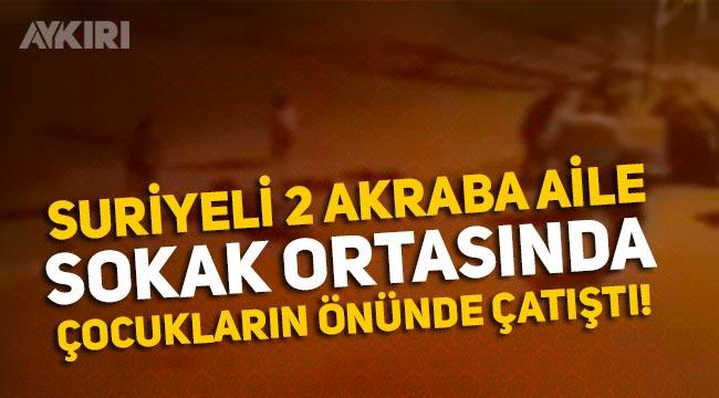 Diyarbakır'daki Suriyeli sığınmacılar çocukların önünde silahlarla çatıştı: 4 yaralı!
