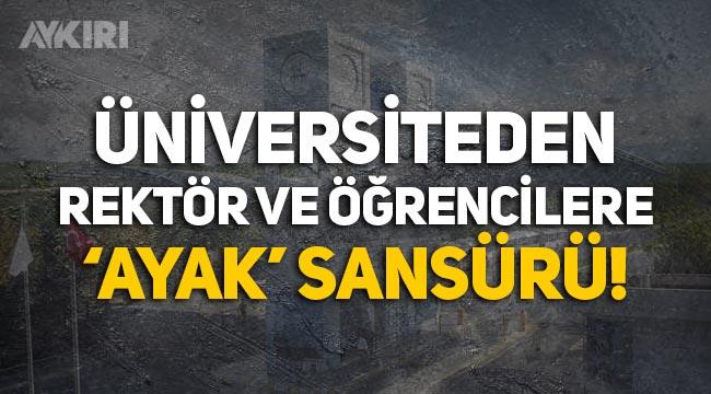 Dokuz Eylül Üniversitesi, resmi hesaptan paylaşılan fotoğrafta ayakları sansürledi!