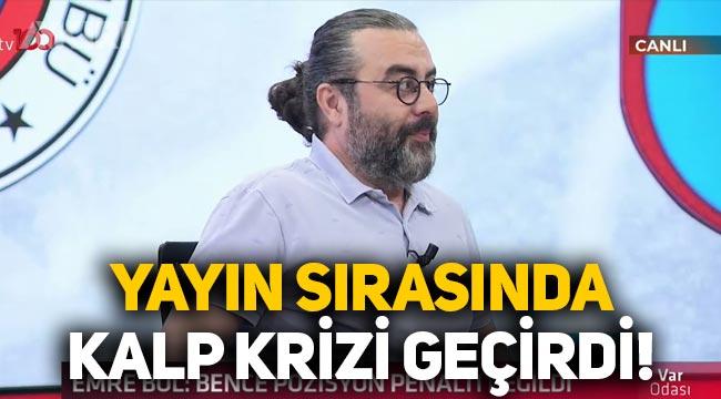 Emre Bol, canlı yayında kalp krizi geçirdi: Ertem Şener sağlık durumu hakkında bilgi verdi!