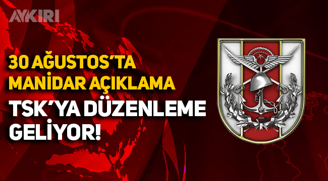 Erdoğan'dan, 30 Ağustos'ta manidar açıklama! TSK'ya düzenleme geliyor