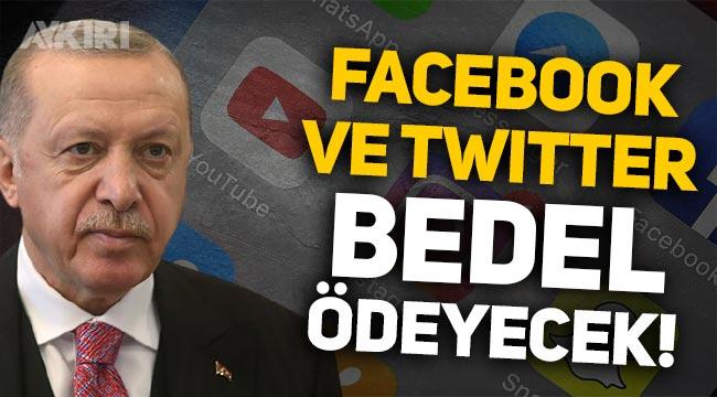 """Erdoğan'dan sosyal medya açıklaması: """"Facebook ve Twitter bedel ödeyecek!"""""""
