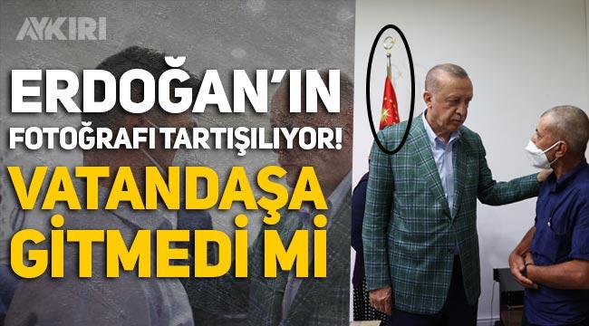 Erdoğan'ın fotoğrafı dikkat çekti: Şahin Akdemir'in ailesinin evine gitmedi mi?