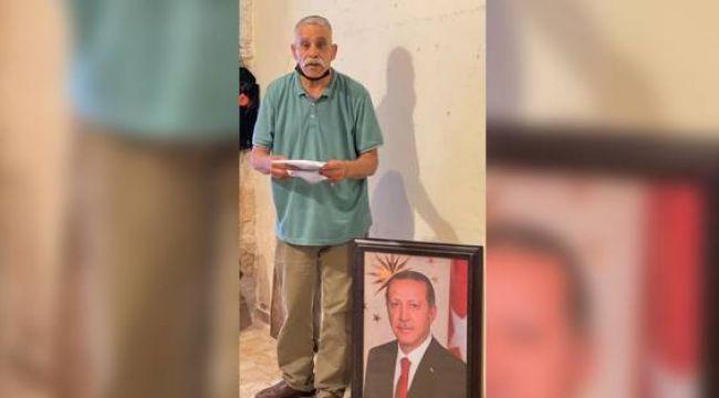 'Erdoğan'ın fotoğrafını dükkanına asan Filistinliye para cezası kesildi' iddiası!