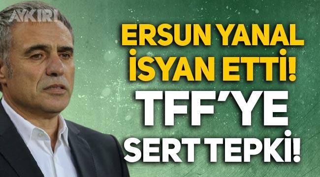 Ersun Yanal isyan etti, Antalyaspor - Rizespor maçı sonrası TFF'ye sert tepki!