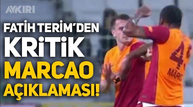 Fatih Terim'den Marcao ve Kerem Aktürkoğlu açıklaması!