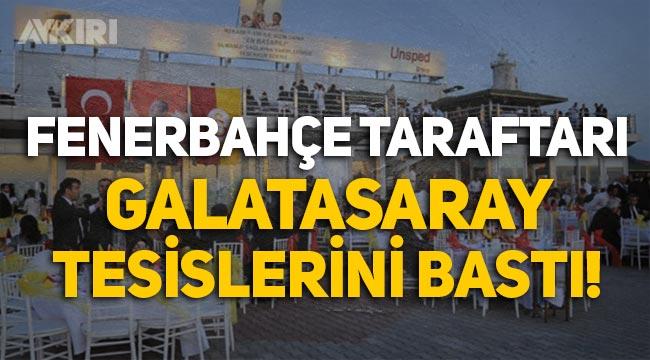 Fenerbahçe taraftarı Galatasaray tesislerini bastı iddiası!