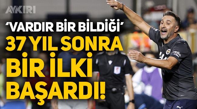 Fenerbahçe, Vitor Pereira yönetiminde 37 yıl sonra bir ilki başardı!