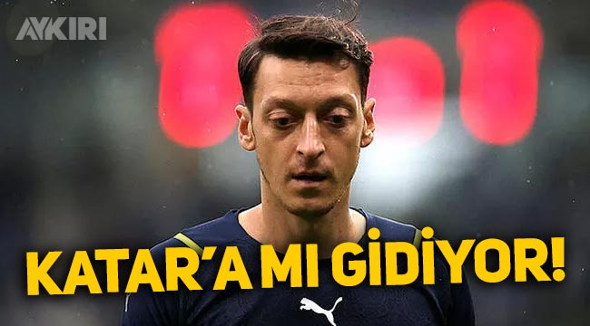 Fenerbahçeli Mesut Özil Katar'da görüntülendi! Mesut Özil Katar'a mı gidiyor?