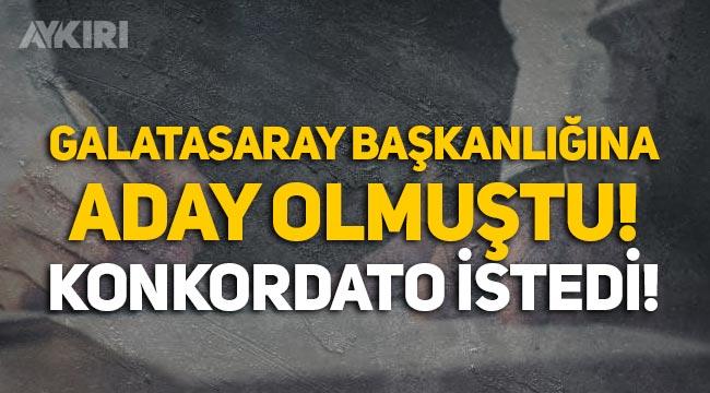 Galatasaray başkanlığına aday olmuştu! Tuncer Hunca'nın şirketi konkordato istedi