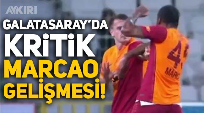 Galatasaray'da kritik Marcao gelişmesi! Kerem Aktürkoğlu'na saldırmıştı...