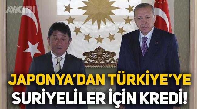 Japonya, Suriyeliler için Türkiye'ye 410 milyon dolar kredi verecek!