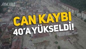 Kastamonu Bozkurt'ta sel felaketi: 40 kişi hayatını kaybetti!
